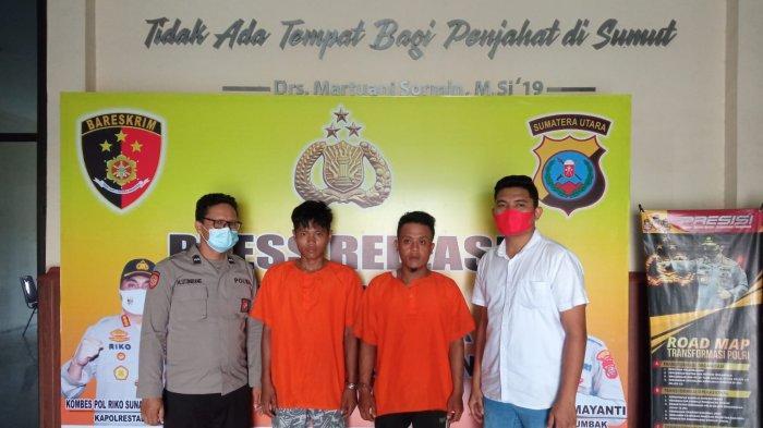 Polisi Tangkap Pelaku Curanmor dan Penadah di Kawasan Patumbak