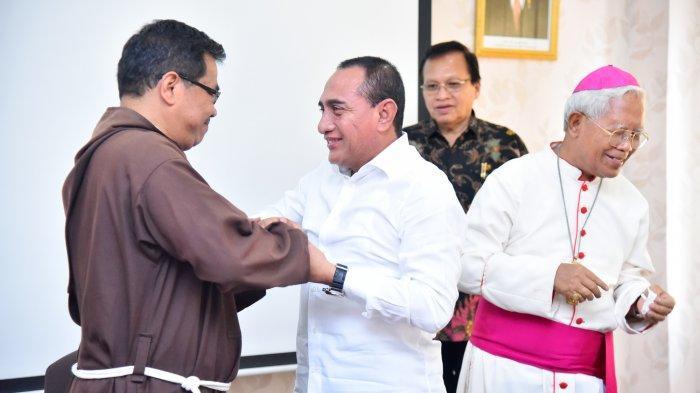 Edy Rahmayadi Harapkan Uskup Agung Medan yang Baru Dapat Tingkatkan Kerukunan Sumut