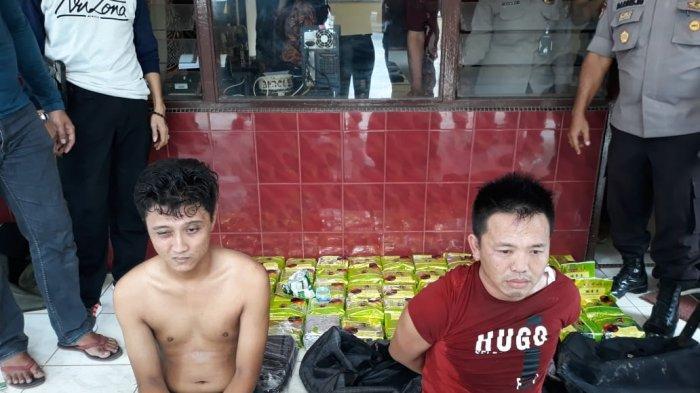 Bawa 60 Bungkus Sabu, Eks Polisi Diciduk BNN di Jalinsum Simpang Kopi