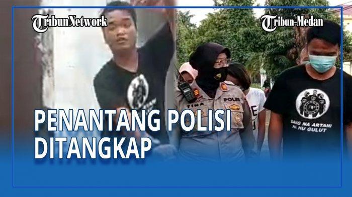 Preman Penantang Polisi Loyo saat Ditangkap, Kapolsek: Tadi Garang Kali, Sekarang Gimana?