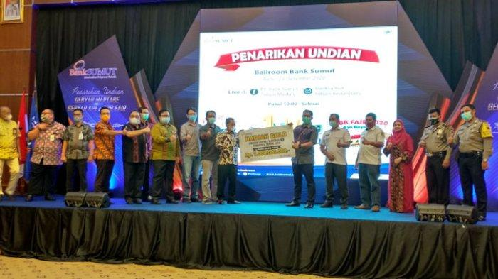Gebyar Martabe dari Bank Sumut Dimenangkan Nasabah Cabang Kampung Lalang