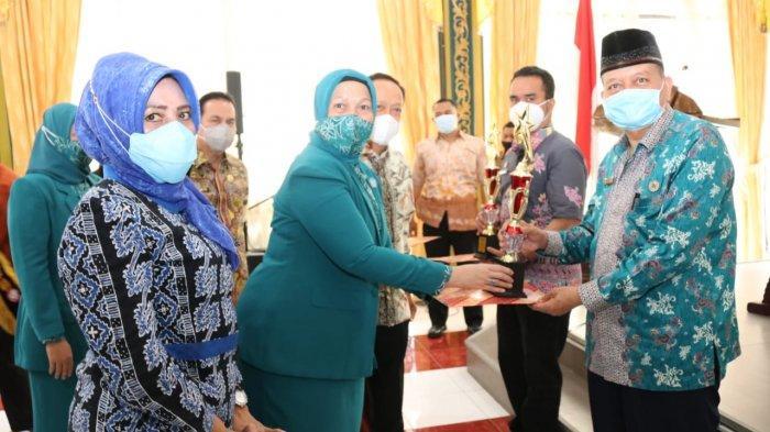 Ciptakan Keluarga Berkualitas, Pjs Wali Kota Medan Canangkan Program PKK KB