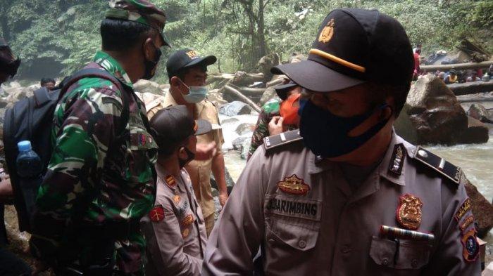 Petugas Gabungan Masih Cari Wisatawan yang Hilang di Pusaran Air Terjun Balala Simalungun