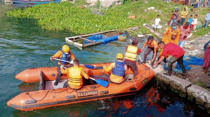 Seorang Pemuda di Humbahas Tewas Tenggelam di Danau Toba, Terpeleset saat Beri Makan Ikan di Keramba