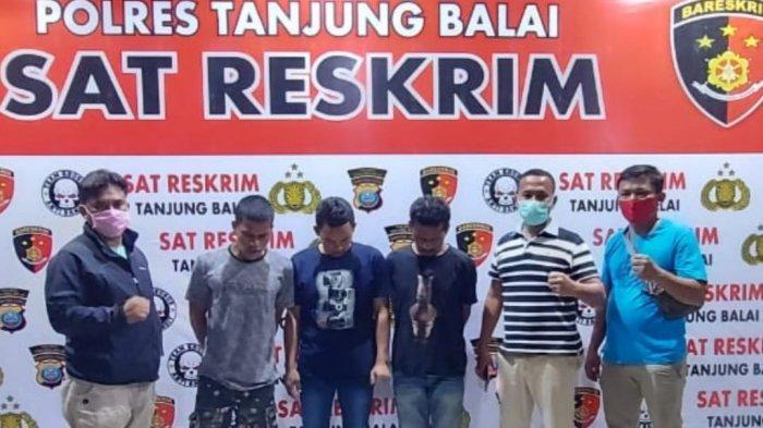 Tiga Pelaku Bongkar Rumah Ditangkap, Tertangkap saat Jual Laptop Hasil Curian Milik Korban