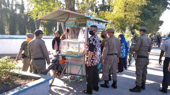 Pedagang di Lubukpakam Sempat Ngamuk Ditertibkan, Luluh Setelah Dibujuk