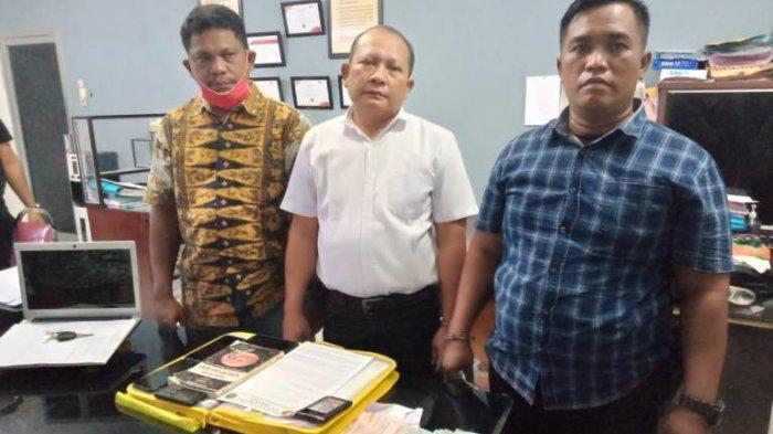 Peras Kepala Desa Rp 10 Juta, Polres Asahan Tangkap Oknum Pengacara dan Wartawan