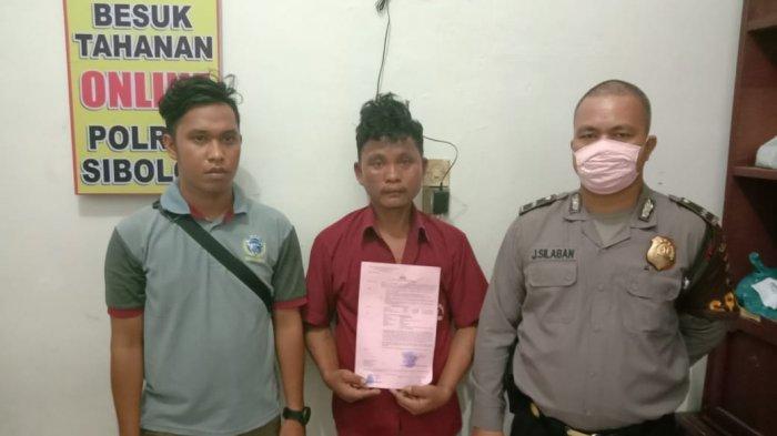 Penganiaya Anak Kandung di Sibolga Kabur Saat Diperiksa Polisi, Akhirnya Ditangkap di Medan