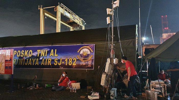 Telkomsel Dukung Kelancaran Operasional Tim Evakuasi Jatuhnya Pesawat Sriwijaya Air SJ-182