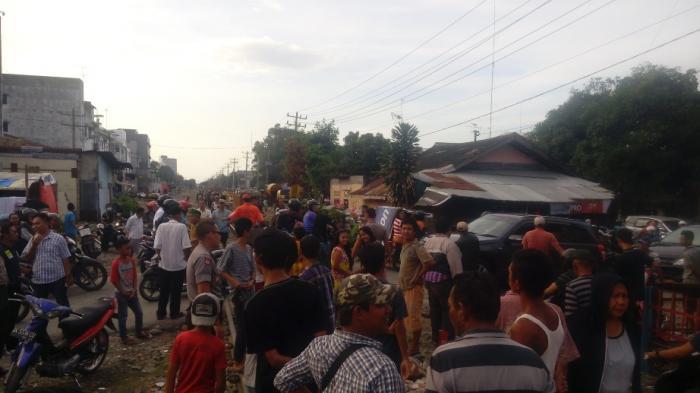 Polisi Gerebek Jalan Karantina, Arus Lalu Lintas Sempat Macet