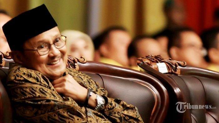 PRESIDEN RI Ketiga BJ Habibie Wanti-wanti Masyarakat Indonesia Seluruhnya Jelang Momentum 22 Mei