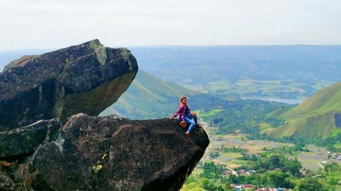 Batu Marompa di Samosir, Konon Katanya Terbentuk karena Kutukan Terhadap Sepasang Kekasih