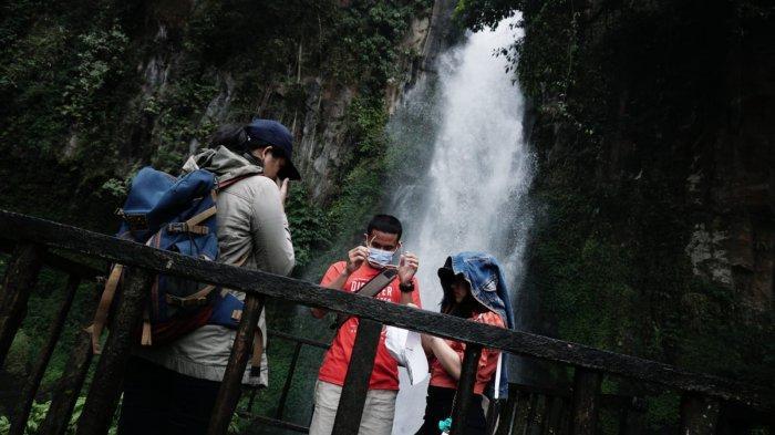 Hanya 1,5 Jam dari Kota Medan, Berikut Spot Foto dan Keindahan di Wisata Air Terjun Sikulikap