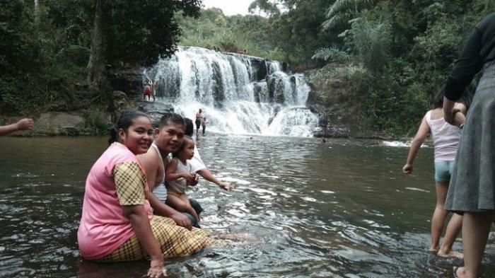 Air Terjun Sampuran Damparan, Wisata Alam yang Berada di Kawasan Perbukitan Tapanuli Selatan