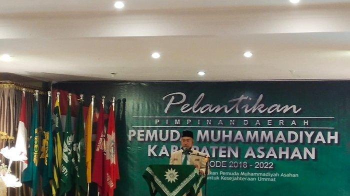 Semangat Al Maun, Warnai Gerakan Dakwah Pemuda Muhammadiyah Asahan pada Pelantikan