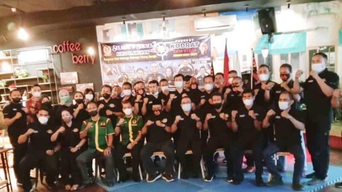 Bobby Octavianus Zulkarnain Dilantik sebagai Ketua Pengkot Tarung Derajat Medan