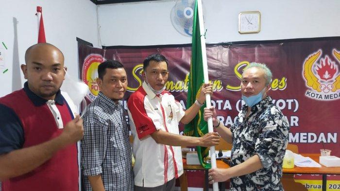 Pebiliar Nasional Pimpin POBSI Medan, Diharapkan Bisa Berbagi Pengalaman Hadapi PON