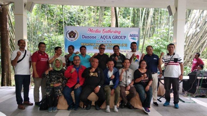 Peduli Lingkungan Lewat Planet Sirkular, Silaturahmi PWI Sumut dengan Danone-Aqua Indonesia