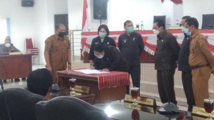 Cory-Theo Disambut Tepuk Tangan di Paripurna DPRD Karo, Besok Pengajuan Usulan ke Gubernur