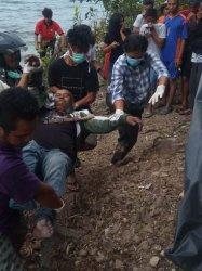 Pensiunan TNI Ditemukan Tewas di Pinggir Danau Toba Kabupaten Dairi