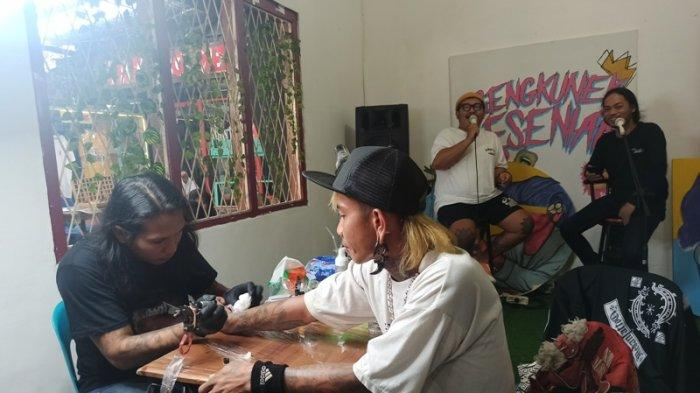 Medan Artgustusan, Kolaborasi Seniman Medan Unjuk Kreativitas Sambut HUT ke-75 RI