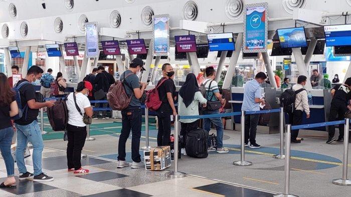 H-1 Larangan Mudik Lebaran, Penumpang Bandara Kualanamu Melonjak 30 Persen, Sehari Tembus 12 Ribu