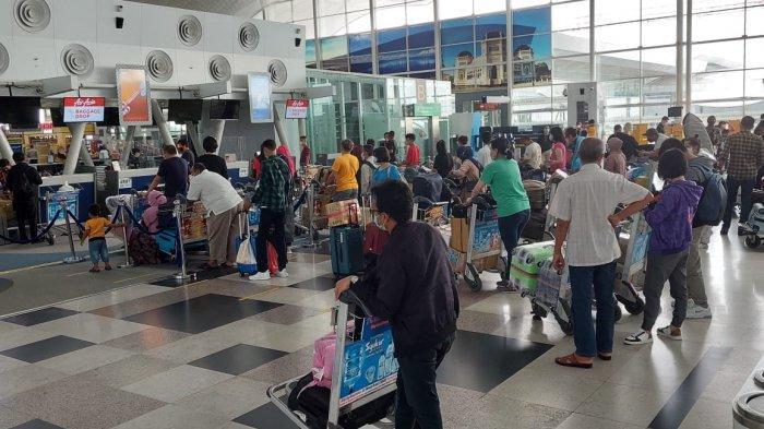 Menjelang PPKM Darurat Jawa-Bali, Jumlah Penumpang di Bandara Kualanamu Masih Normal