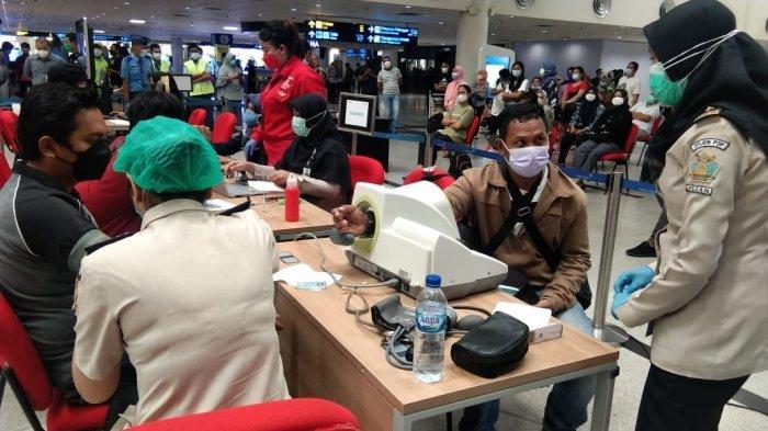 Prosedur Vaksinasi di Bandara Kualanamu, Anak-anak Bisa Berangkat Asal Ada Surat Dari Dokter