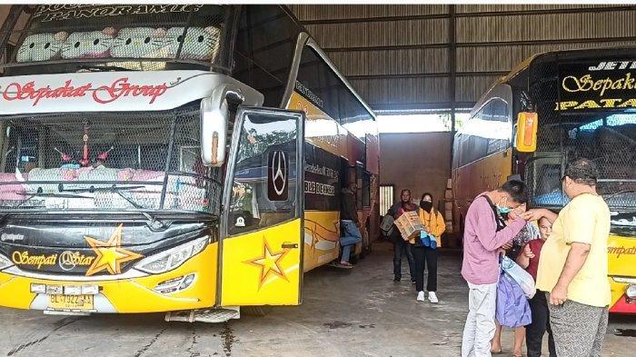 Penumpang Bus Sempati Star Melonjak Jelang Ramadan di Tengah Larangan Mudik Lebaran