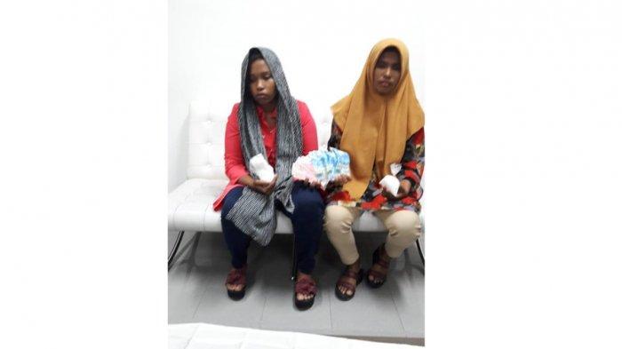 Sembunyikan 197,5 Gram Sabusabu di Celana Dalam, 2 Wanita Diamankan PetugasBandara Kualanamu