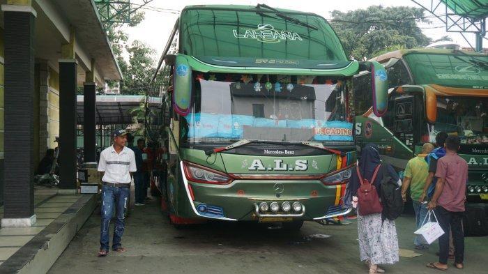 Dua Pekan Jelang Lebaran, Layanan Transportasi Bus Antar Lintas Sumatera Sepi Penumpang