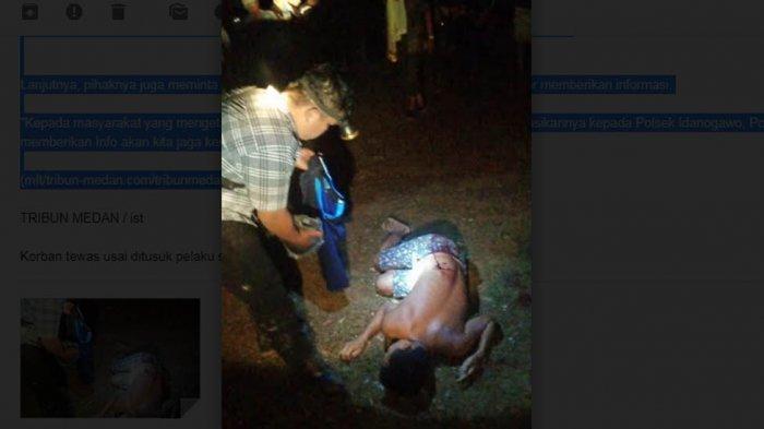 Polisi Masih Buruh Pelaku Penusukan di Nias, Humas Polres Sebut Tiga Orang Dimintai Keterangan