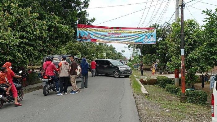 Seluruh Lokasi Wisata di Langkat Ditutup, Pengguna Jalan Komplain Lantaran Akses Diblokade