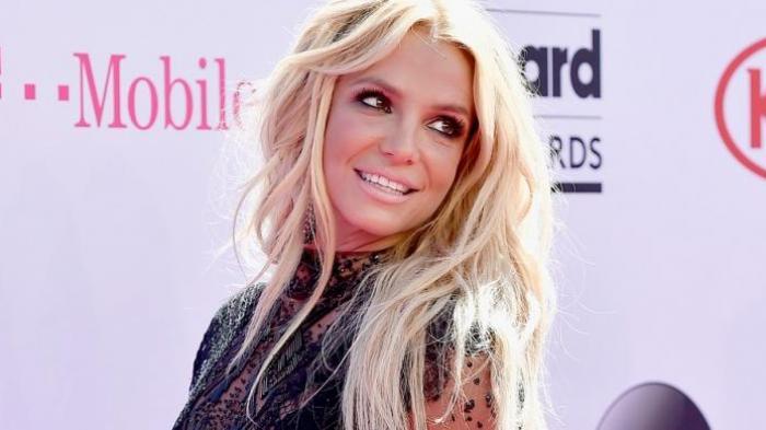 Penyanyi Britney Spears menghadiri Billboard Music Awards 2016 yang digelar di T-Mobile Arena di Las Vegas, Nevada, Minggu (22/5/2016).