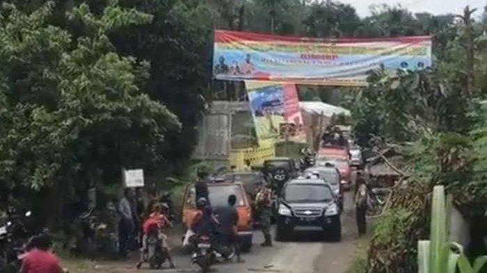 Jalan Masuk ke Sumut Tetap Disekat Bagi Pendatang dari Aceh di Kawasan Langkat