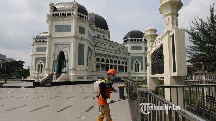 2 Masjid Bersejarah di Medan, Sudah Ada Sejak Jaman Kesultanan Deli, Ada yang Sudah 7 Kali Renovasi