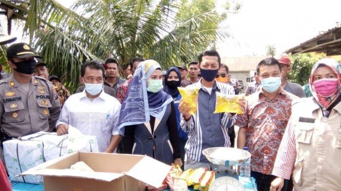 Ribuan Warga Taput Belum Terima Bantuan Sembako dari Pemprov Sumut, Baru Terdistribusi 50 Persen