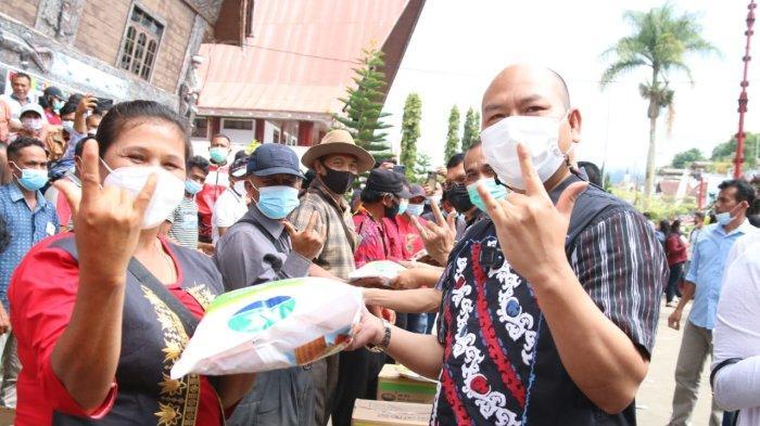 Bantu Petani di Masa Pandemi Covid-19, Pemkab Taput Salurkan Bibit Jagung Unggul dan Bersertifikasi
