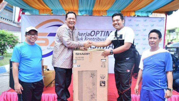 Bank Sumut Cabkor Padangsidempuan Adakan Pertandingan Olahraga