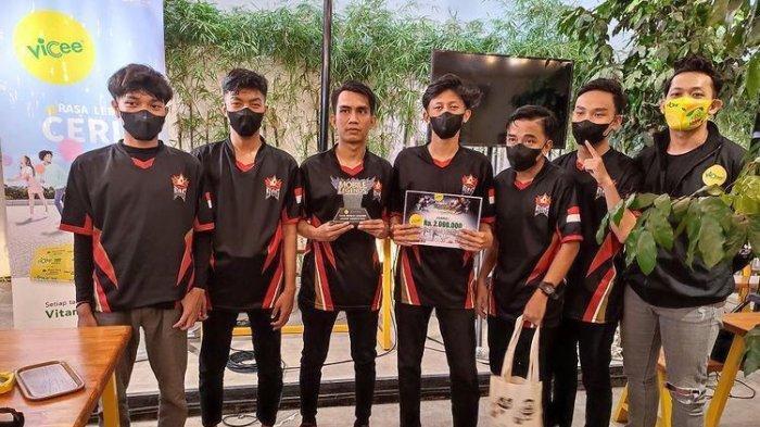 Tim SOG Jadi Juara Vicee Mobile Legends League Competition 2021
