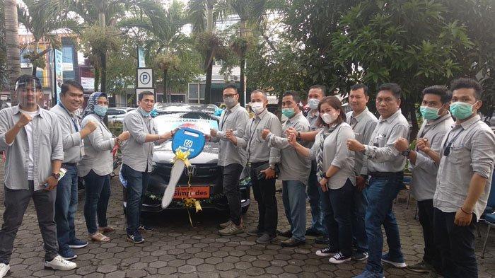 Nasabah BRI Unit Bakti Medan Bawa Pulang Mobil dari Undian Panen Hadiah Simpedes