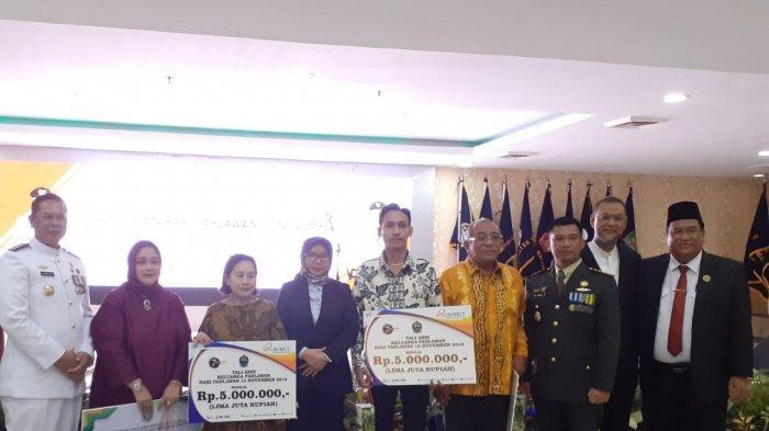 Bank Sumut Berikan Tali Asih Kepada Keluarga Pahlawan Nasional Sumut
