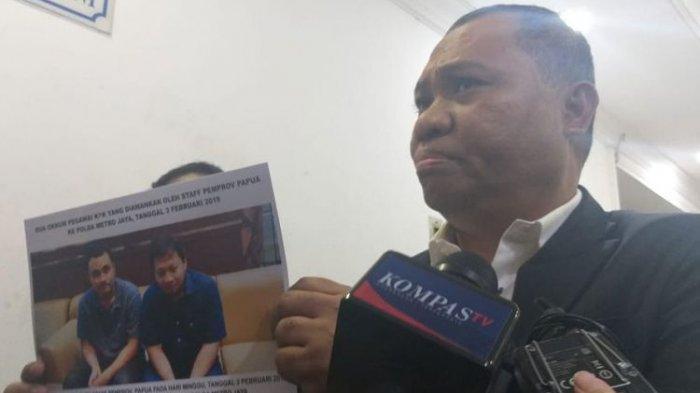 Penyidik KPK Dianiaya, Kuasa Hukum Pemprov Papua Tunjukkan Foto Korban dan Sebut KPK Gagal OTT