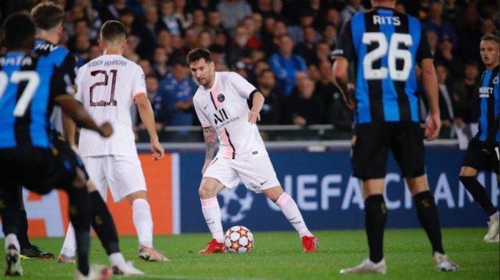 JAM Tayang PSG Vs Man City Malam Ini, Guardiola Mau Lionel Messi Diturunkan, Live SCTV