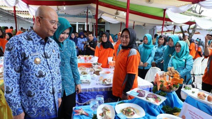 Peringatan Hari Pangan Sedunia Ke 38 Tingkat Kota Medan Berlangsung Meriah Tribun Medan