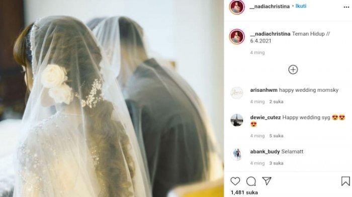 Pernikahan Alfath dan <a href='https://manado.tribunnews.com/tag/nadia-christina' title='NadiaChristina'>NadiaChristina</a>