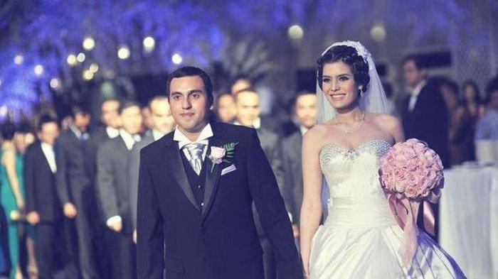 Potret pernikahan Carissa Puteri dan Navies Abdullah Naif.