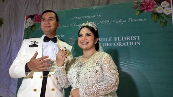 Pernikahan Joy Tobing dan Kolonel Cahyo Permono