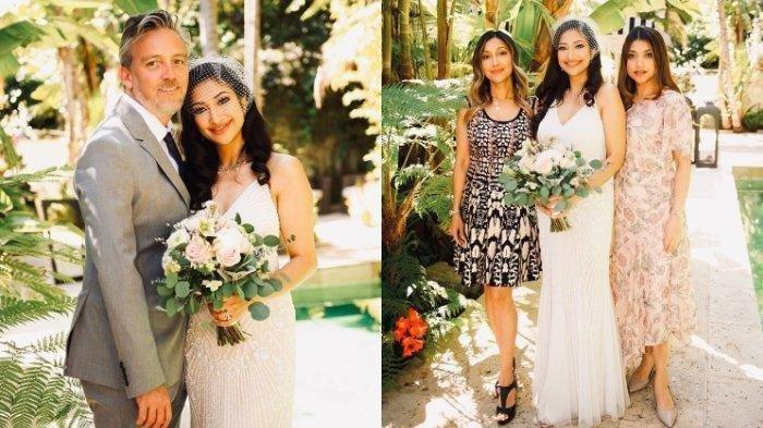 Pernikahan kedua Rahma Azhari dengan bule bernama Paris Chong. (Instagram)