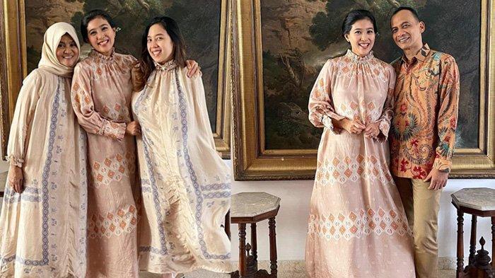 Olvia Zalianty Menikah Jelang 40 Tahun: Potret kebahagiaan sang ibunda (kiri) Tetty Liz saat putri bungsunya menikah.